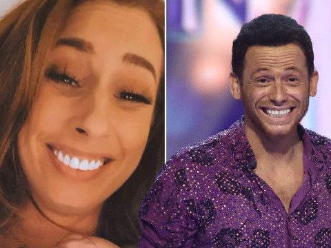 Proud girlfriend Stacey Solomon says Joe Swash's Dancing on Ice win 'meant the world' to him