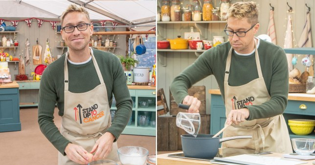 EXCL: Russell Howard Bake Off