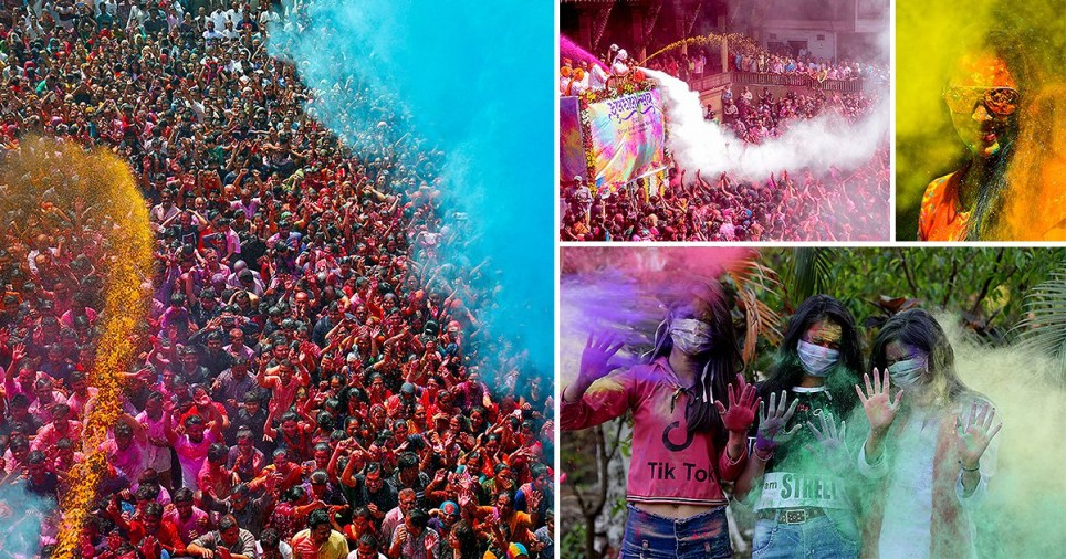 Holi is an ancient Hindu festival that marks the triumph of good over evil, honors fertility and love, and celebrates colors and spring