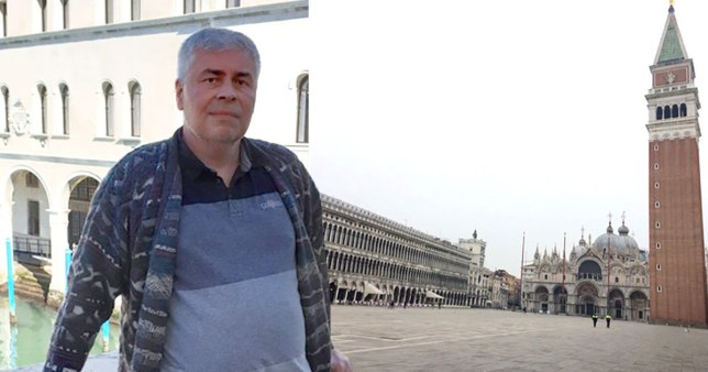 Nigel Spicer had to arrange his own route home after easyJet cancelled his flight out of Venice