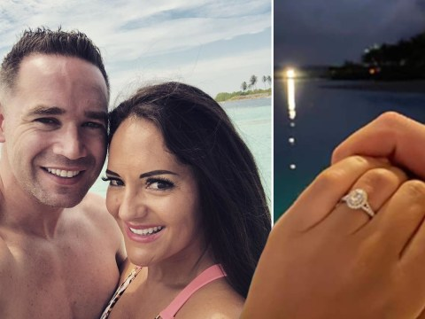 Kieran Hayler is 'engaged' to girlfriend Michelle Pentecost after 'popping the question in the Maldives'