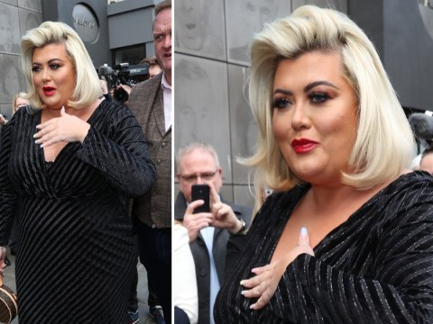 Gemma Collins is all for old Hollywood glam and looks like a total film star for Prince's Trust Awards