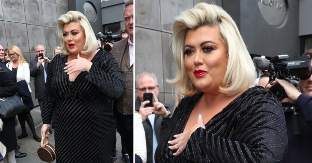 Gemma Collins at the Prince's Trust Awards 2020