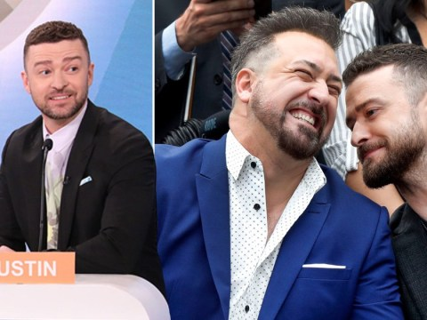 Justin Timberlake got caught breaking into Alcatraz with his NSYNC bandmate Joey Fatone