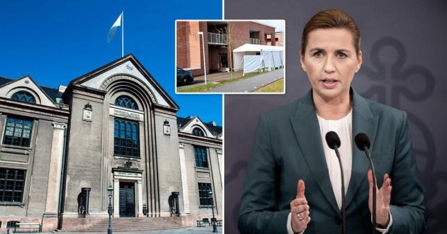 Prime minister Mette Frederiksen holds a press conference on COVID-19 Coronavirus outbreak in, Copenhagen, Denmark