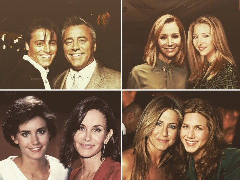 Friends cast post with younger selves in mindblowing snaps ahead of reunion – and none of them have aged