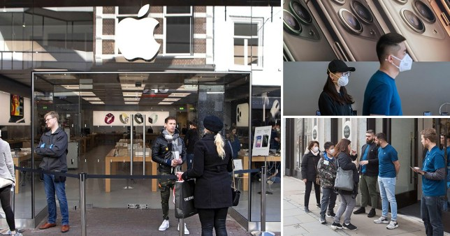 Apple closes all stores outside of China as coronavirus continues to spread