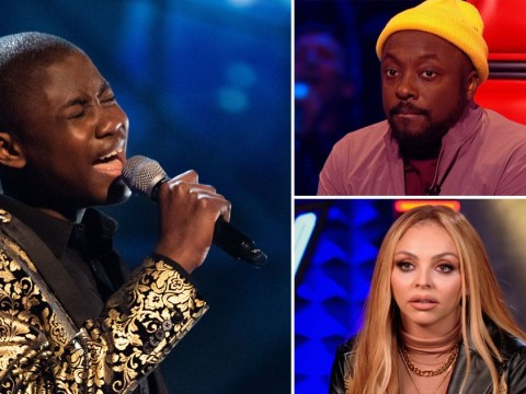 Jesy Nelson gets emotional as Will.i.am saves Gevanni on The Voice: 'He could sing Ba Ba Black Sheep and I'd cry'