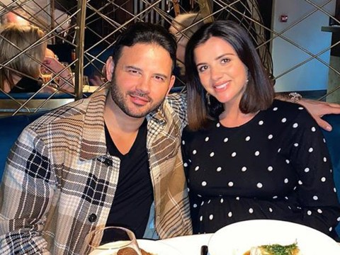 Lucy Mecklenburgh celebrates son's 'one week birthday' with steak and chips