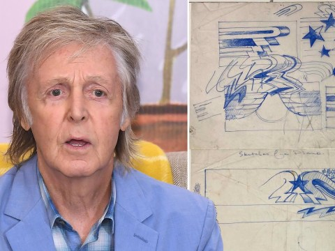 Builder set to make £10,000 after finding Paul McCartney piano design in a skip