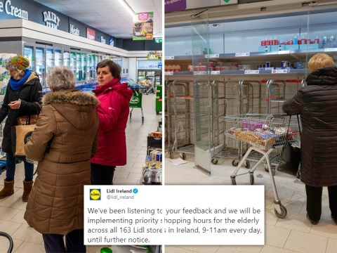 Lidl Ireland opens priority shopping for elderly to protect them from Covid-19