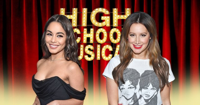 Vanessa Hudgens and Ashley Tisdale, High School Musical