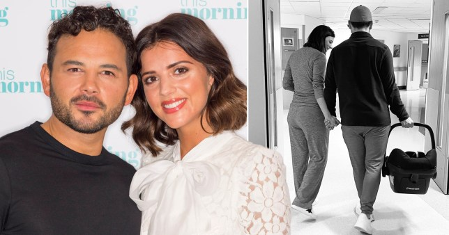 Lucy Mecklenburgh and Ryan Thoma
