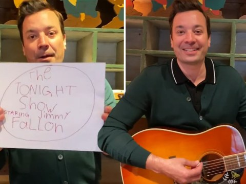 Jimmy Fallon hosts 'Tonight Show' from home after series postponed due to coronavirus