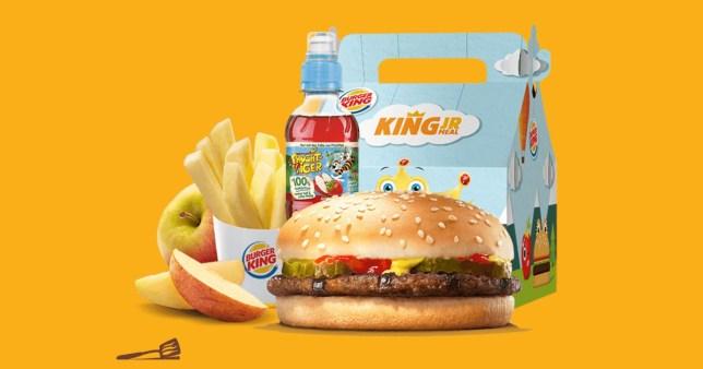 Burger king kids meal