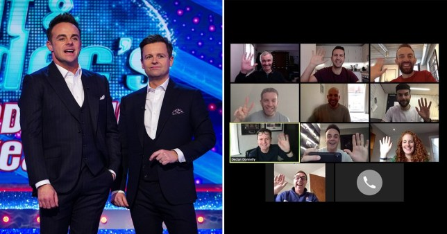 Ant and Dec on SNT