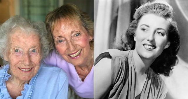 Dame Vera Lynn as she is now and when she was younger