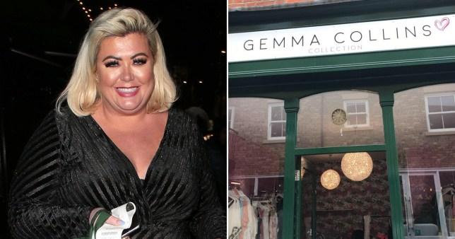 Gemma Collins and her Essex boutique