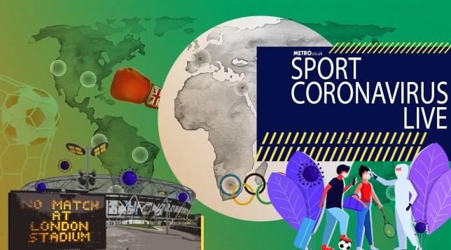 Coronavirus sports news live blog