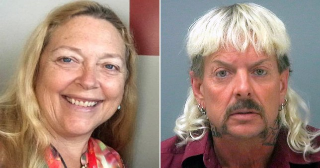 Carole Baskin claims Joe Exotic paid someone to sing his songs for him