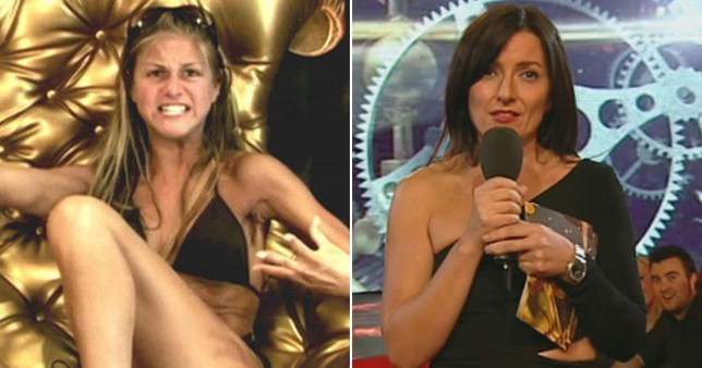 Davina McCall presents Big Brother