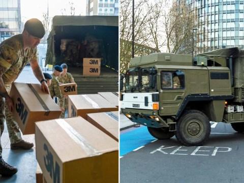 Army on the streets as UK goes into coronavirus lockdown