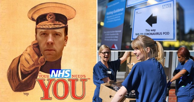 150,000 sign up to volunteer for NHS