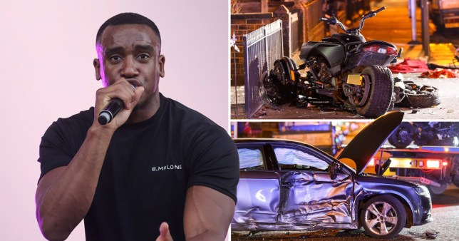 bugzy malone crash