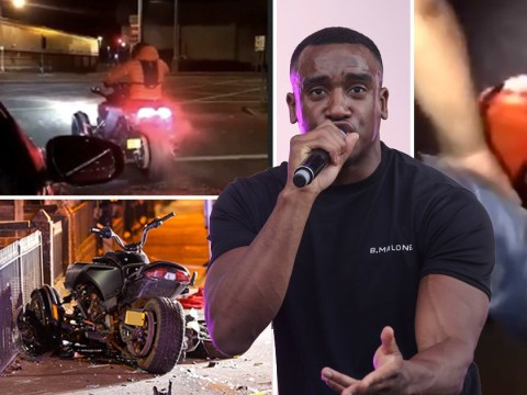 Bugzy Malone in 'stable condition' after quad bike accident