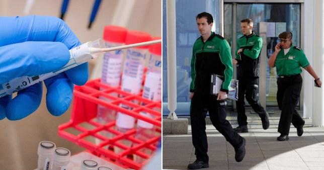 coronavirus nhs staff test