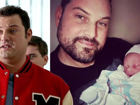 Former Glee star Max Adler welcomes baby boy with wife Jennifer