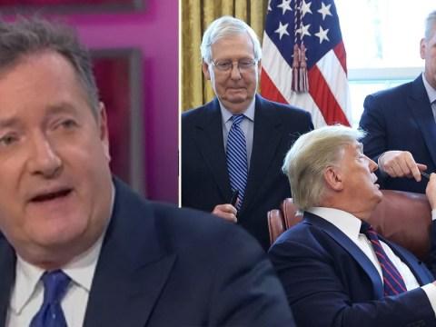 Piers Morgan slams Donald Trump for breaking social distancing rules amid coronavirus pandemic
