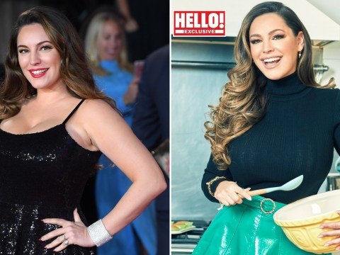 Kelly Brook says she was once told to 'breathe in' on the red carpet when she was a size 16