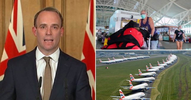 Fleet of planes to get Brits home