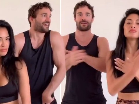 Nicole Scherzinger and Thom Evans join TikTok and they're already smashing the challenges