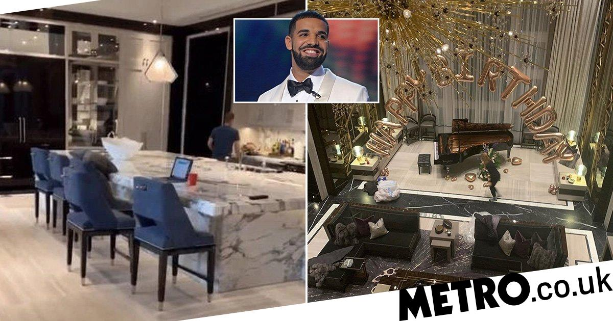 Drake's $100m mansion in Toronto where he's self-isolating