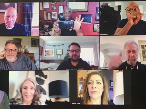 Star Trek: Next Generation's Wil Wheaton reunites with cast for coronavirus lockdown chat
