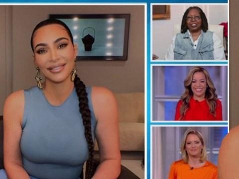 Viewers rage as Kim Kardashian updates The View on how she's coping in coronavirus isolation
