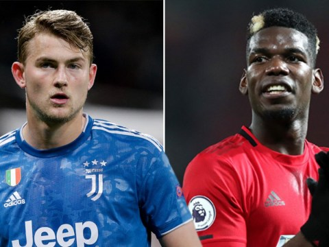 Manchester United want Juventus star Matthijs de Ligt and cash in exchange for Paul Pogba