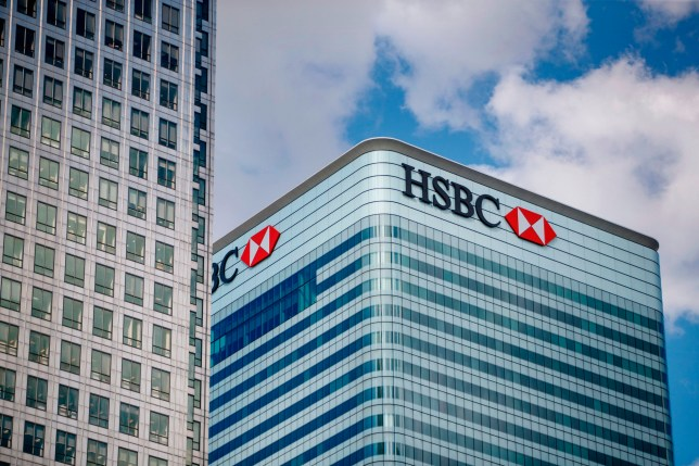 The HSBC UK headquarters are seen at the Canary Wharf financial district of London on July 31, 2018. - HSBC will publish their half-year results on August 6. (Photo by Tolga Akmen / various sources / AFP) (Photo credit should read TOLGA AKMEN/AFP via Getty Images)