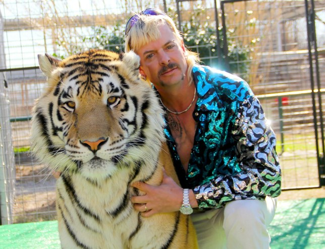 Joe Maldonado-Passage aka Joe Exotic. Tiger King documentary (Picture: Netflix)