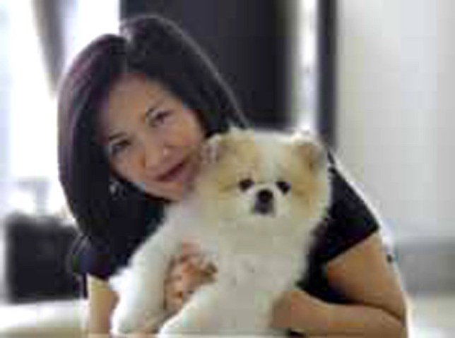 Yvonne Chow dog coronavirus positive