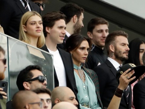 Victoria Beckham, son Brooklyn and Gordon Ramsay proudly cheer as David's team Inter Miami make debut