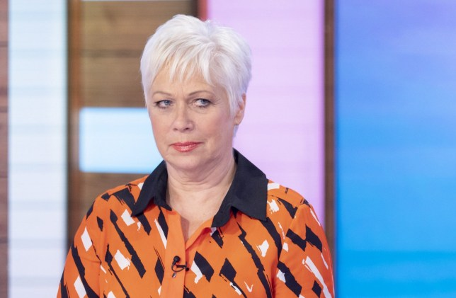 Editorial use only Mandatory Credit: Photo by S Meddle/ITV/REX (10573033ai) Denise Welch 'Loose Women' TV show, London, UK - 03 Mar 2020