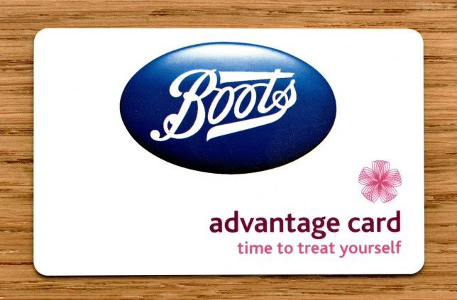 KXEP04 Boots Advantage card - circa 2018