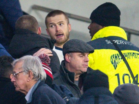 Jose Mourinho reacts after furious Eric Dier jumps into stands to confront Tottenham fans