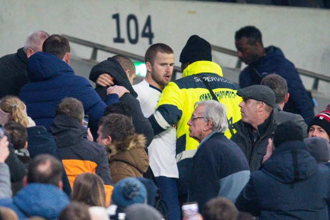Eric Dier was involved in an altercation with a Spurs supporter (Picture: REX)
