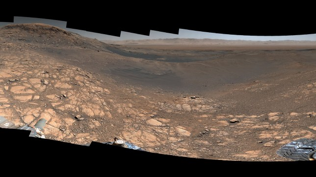 NASA's Curiosity rover captured its highest-resolution panorama yet of the Martian surface between Nov. 24 and Dec. 1, 2019. A version without the rover contains nearly 1.8 billion pixels; a version with the rover contains nearly 650 million pixels. Both versions are composed of more than 1,000 images that were carefully assembled over the following months.