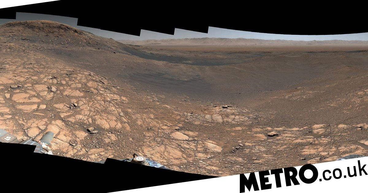 Nasa's Mars rover has captured the planet's surface in unprecedented detail