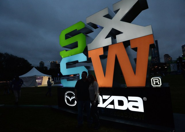 Sign at SXSW festival